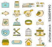 pet shop  veterinary clinic ...   Shutterstock .eps vector #536809990