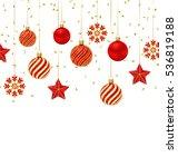 illustration christmas... | Shutterstock .eps vector #536819188
