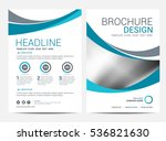 brochure template flyer... | Shutterstock .eps vector #536821630