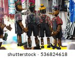 Traditional Puppets Made Of...