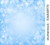fairy blue colored background...   Shutterstock .eps vector #536838970