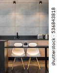Simple Kitchen Table  Two Whit...