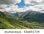 beautiful landscape in the...   Shutterstock . vector #536851729