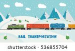Rail Transportation On Winter...