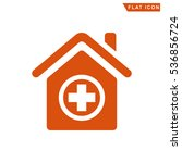 hospital icon | Shutterstock . vector #536856724