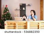 girl upset about not receiving...   Shutterstock . vector #536882350