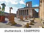 Ruins Of Ancient Pompeii  Roma...