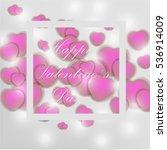 valentines day   Shutterstock .eps vector #536914009