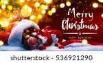Christmas Gift Box And Holiday...