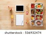 healthy restaurant food for... | Shutterstock . vector #536932474
