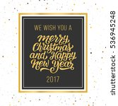 we wish you a merry christmas...   Shutterstock .eps vector #536945248