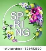 Vector  Spring Flowers...