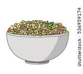 flat vector illustration of... | Shutterstock .eps vector #536959174