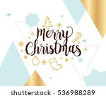 Merry Christmas Text Design....