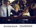 church people believe faith... | Shutterstock . vector #536989009