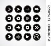 arrow media play icon theme...