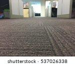 carpet floor in a office ... | Shutterstock . vector #537026338