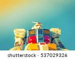full size gundam performances... | Shutterstock . vector #537029326