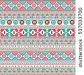 native ethnic pattern theme... | Shutterstock . vector #537033700