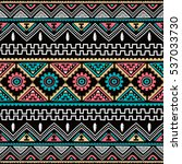 native ethnic pattern theme... | Shutterstock . vector #537033730
