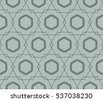 vector seamless pattern. modern ... | Shutterstock .eps vector #537038230