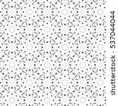melting seamless black and... | Shutterstock . vector #537044044