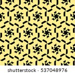 geometric shape abstract vector ... | Shutterstock .eps vector #537048976