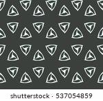 vector seamless pattern. modern ... | Shutterstock .eps vector #537054859