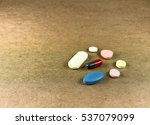 pharmacy background.  pills... | Shutterstock . vector #537079099
