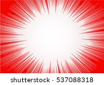 abstract comic book flash... | Shutterstock .eps vector #537088318