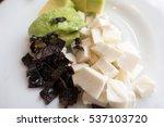 cotija cheese and avocado... | Shutterstock . vector #537103720