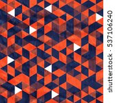 seamless orange pattern of... | Shutterstock .eps vector #537106240