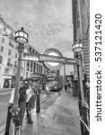 london   july 3  2015  tourists ... | Shutterstock . vector #537121420