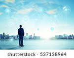 international business concept... | Shutterstock . vector #537138964
