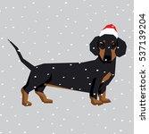 vector polygon dog collection....   Shutterstock .eps vector #537139204