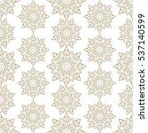 vintage seamless pattern | Shutterstock .eps vector #537140599