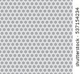 geometric seamless pattern... | Shutterstock .eps vector #537154234