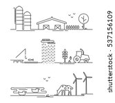 vector illustration ecology... | Shutterstock .eps vector #537156109