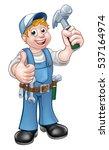 A Carpenter Handyman Cartoon...