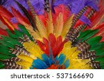 Colorful Background Of Dyed An...