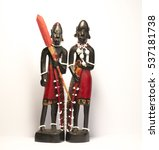 African Natives Figurines.