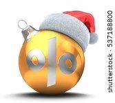 3d illustration of golden...   Shutterstock . vector #537188800