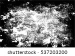 grunge black and white urban... | Shutterstock .eps vector #537203200
