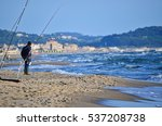 Fisherman With Spinning On Th...