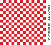 Checkered Seamless Red Pattern...
