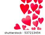 valentine's day background | Shutterstock . vector #537213454