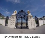 Entrance Gate To Belvedere...