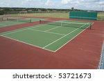 a tennis court | Shutterstock . vector #53721673