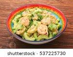 Avocado Salad With Shrimp And...