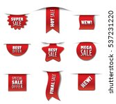 set of promotion advertising... | Shutterstock .eps vector #537231220